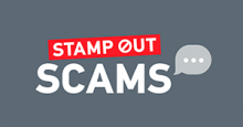 Royal Mail Stamp Out Scams logo